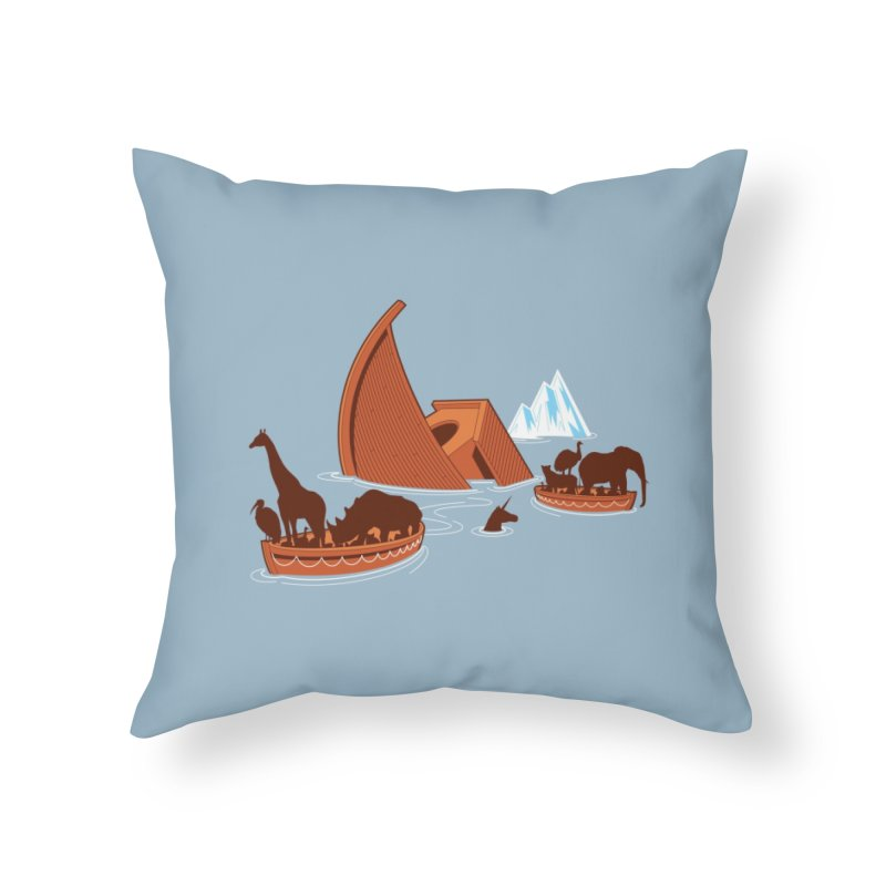 Biblical Disaster Home Throw Pillow by Threadless Artist Shop