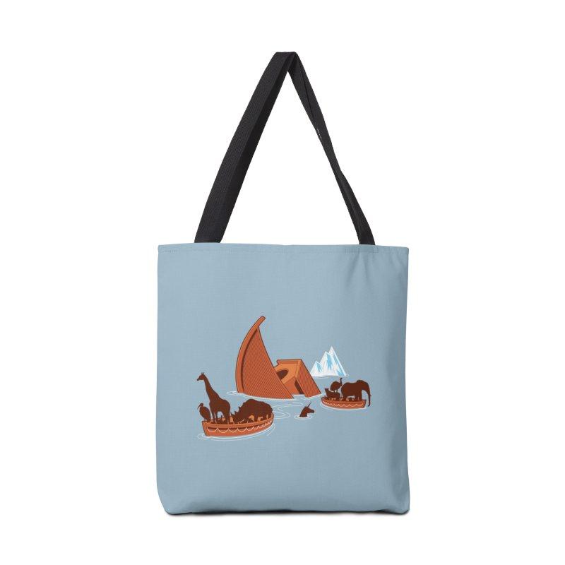 Biblical Disaster Accessories Bag by Threadless Artist Shop