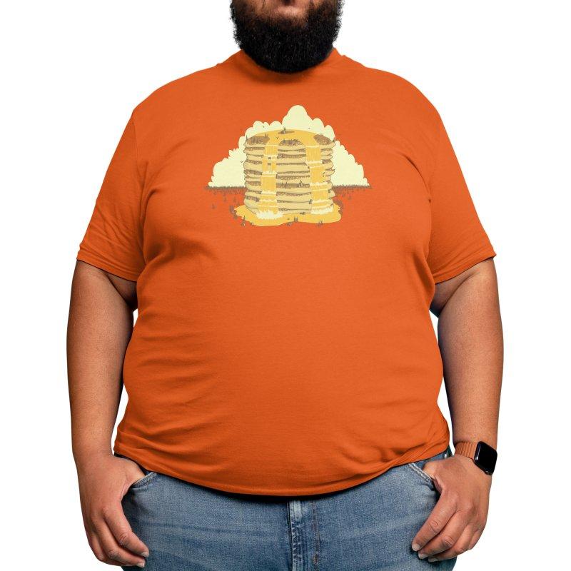 Pancakes Mountain Men's T-Shirt by Threadless Artist Shop