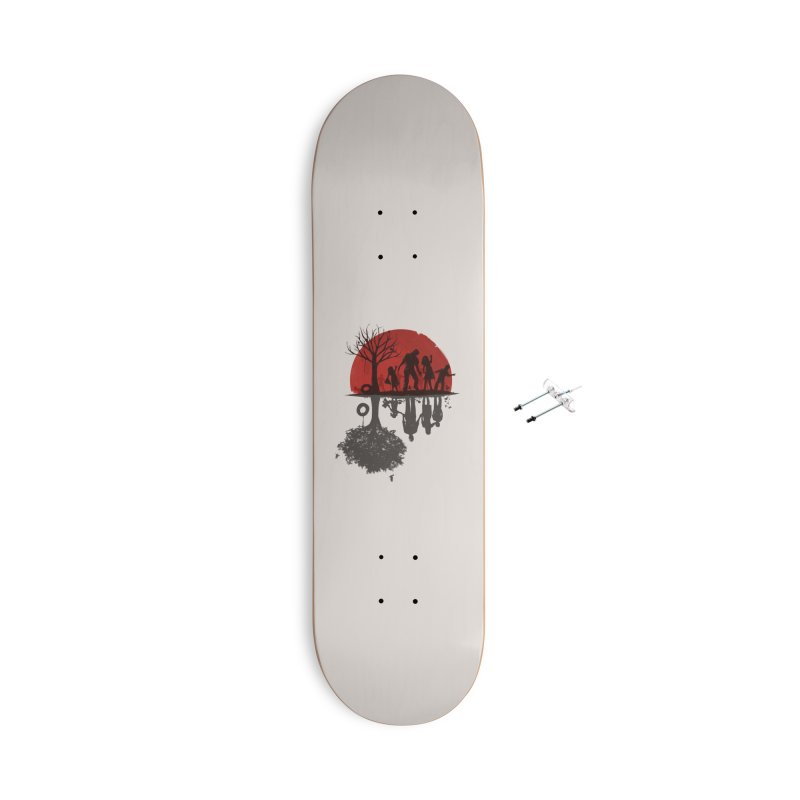 A Family Once Accessories Skateboard by Threadless Artist Shop