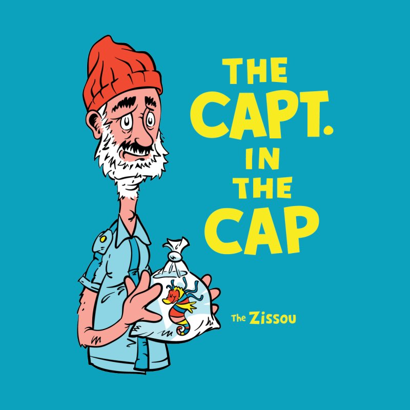 The Capt. in the Cap Women's T-Shirt by Threadless Artist Shop