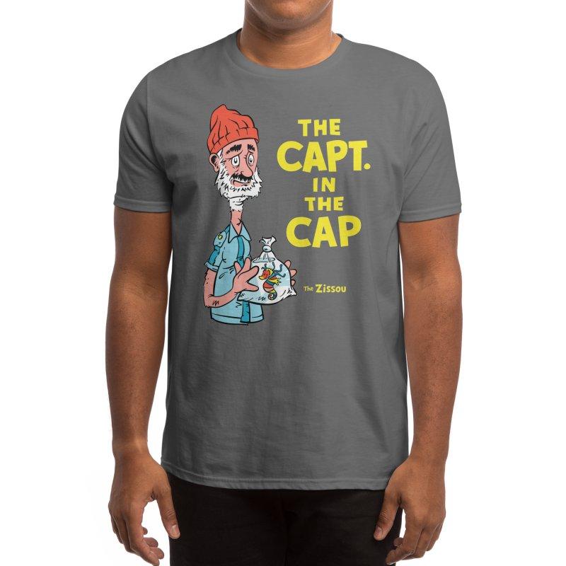 The Capt. in the Cap Men's T-Shirt by Threadless Artist Shop