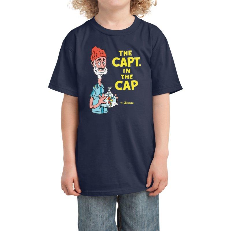 The Capt. in the Cap Kids T-Shirt by Threadless Artist Shop