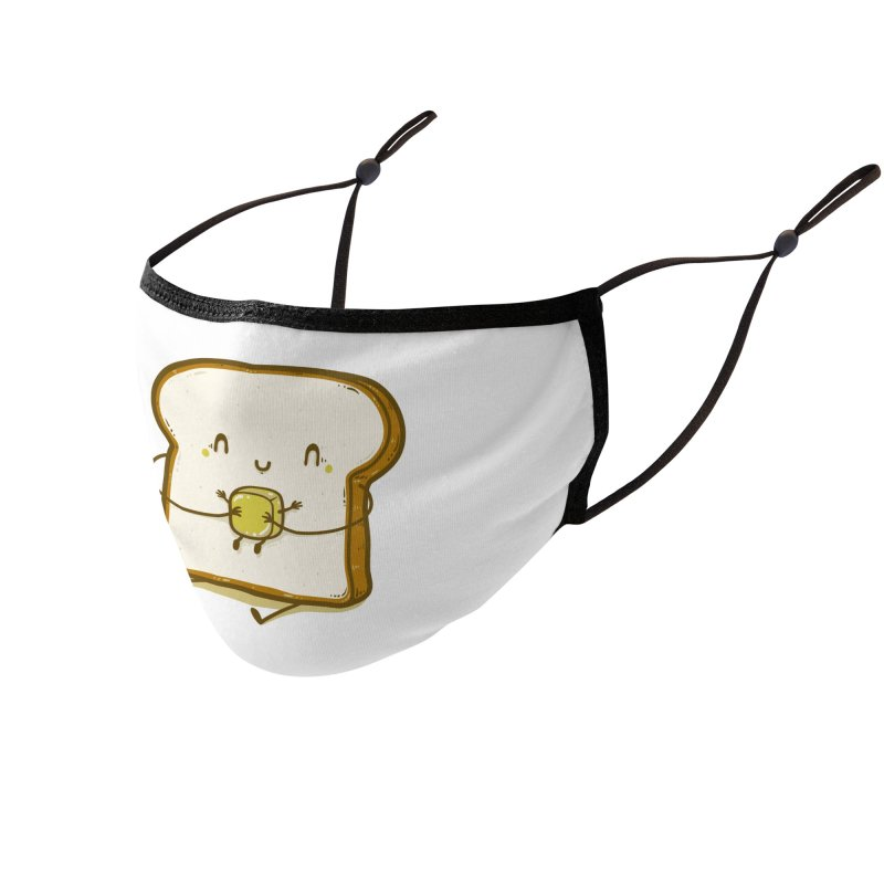 Bread and Butter Accessories Face Mask by Threadless Artist Shop