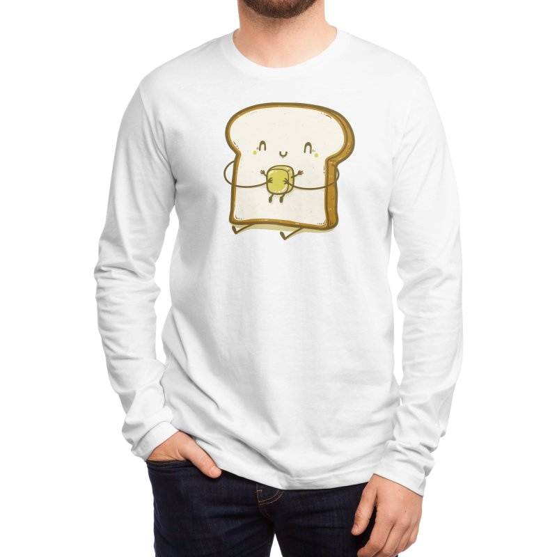 Bread and Butter Men's Longsleeve T-Shirt by Threadless Artist Shop