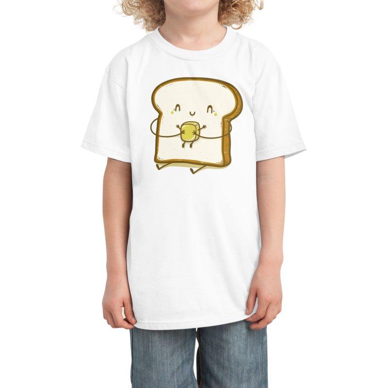 Bread and Butter Kids T-Shirt by Threadless Artist Shop