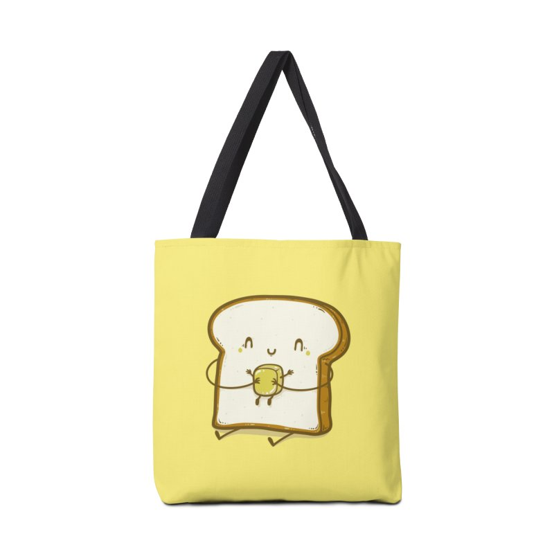 Bread and Butter Accessories Bag by Threadless Artist Shop