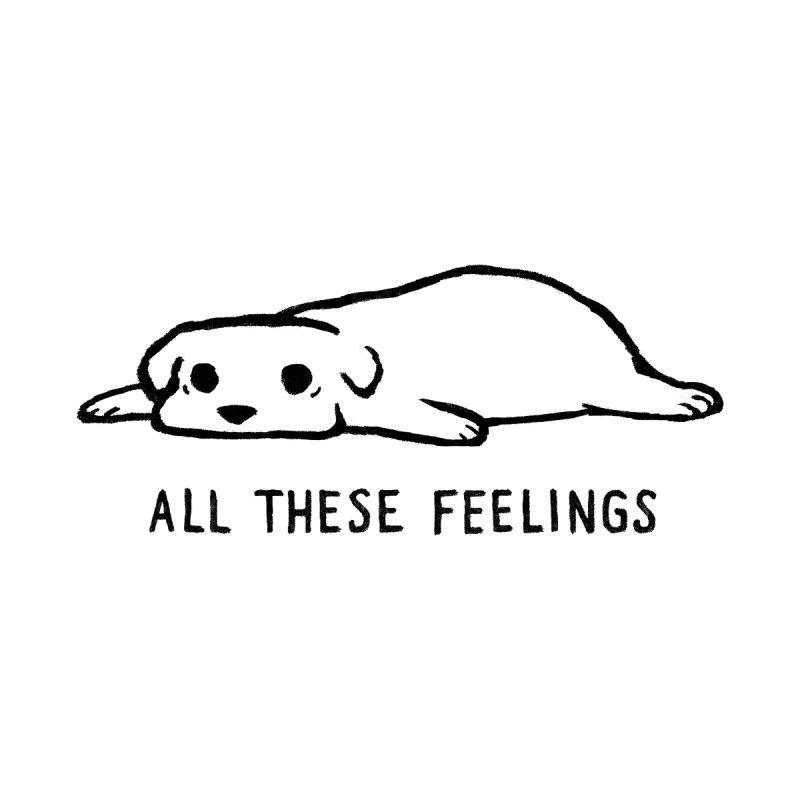All These Feelings Men's T-Shirt by Threadless Artist Shop