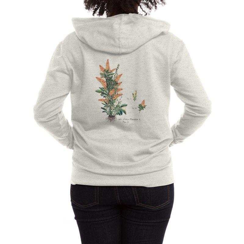 Vegetabilis Pizzarius Women's Zip-Up Hoody by Threadless Artist Shop