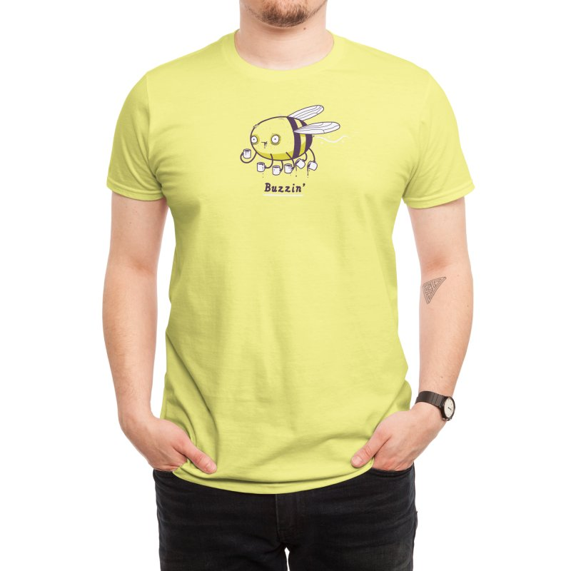 Buzzin' Men's T-Shirt by Threadless Artist Shop