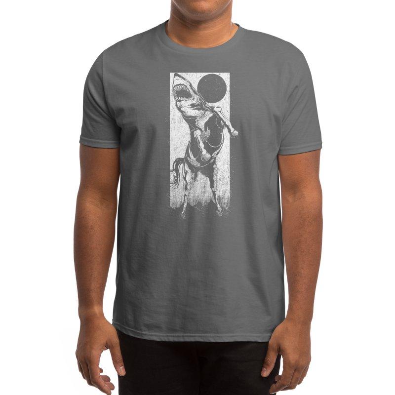 The Great White Stallion Men's T-Shirt by Threadless Artist Shop