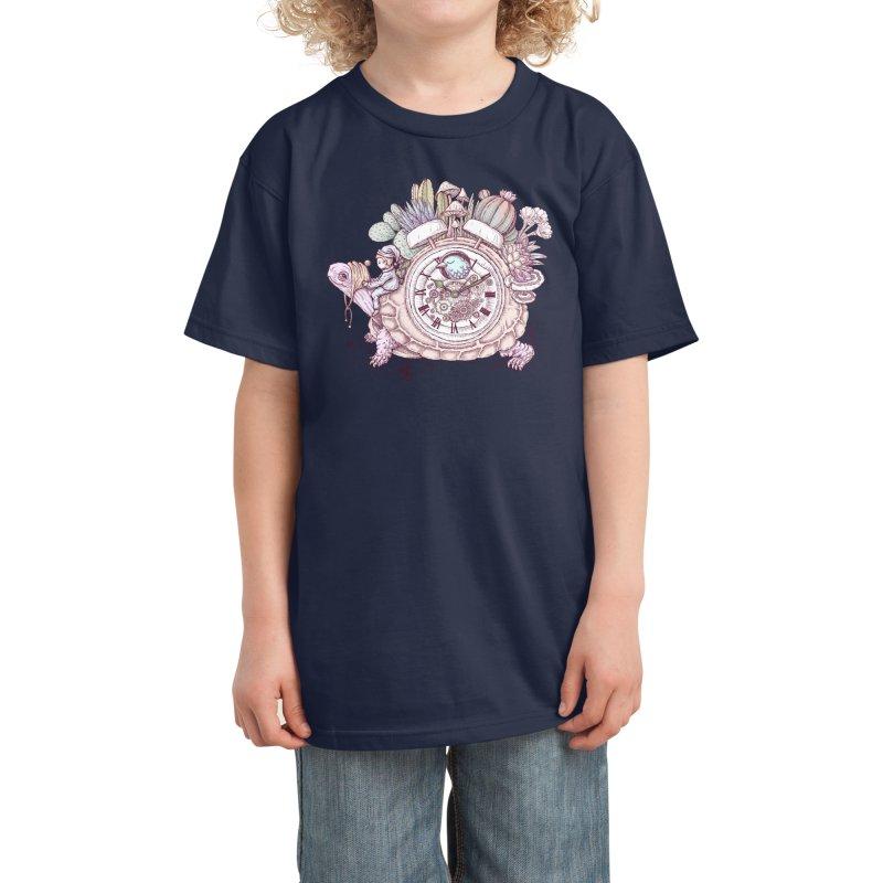 slow alarm clock Kids T-Shirt by Threadless Artist Shop