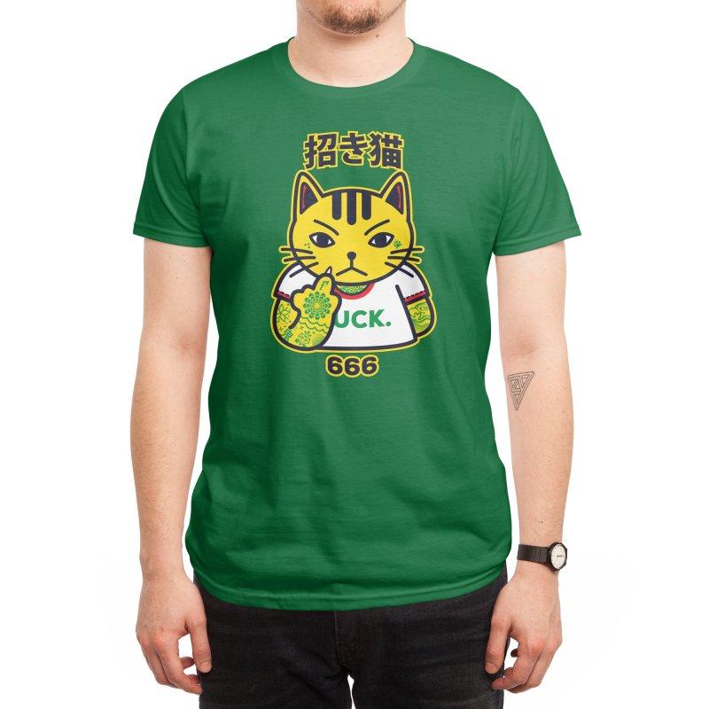 Unlucky Cat Men's T-Shirt by Threadless Artist Shop