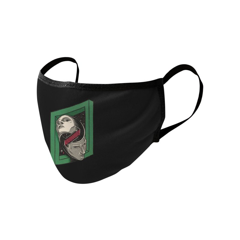 The Solipsist Accessories Face Mask by Threadless Artist Shop