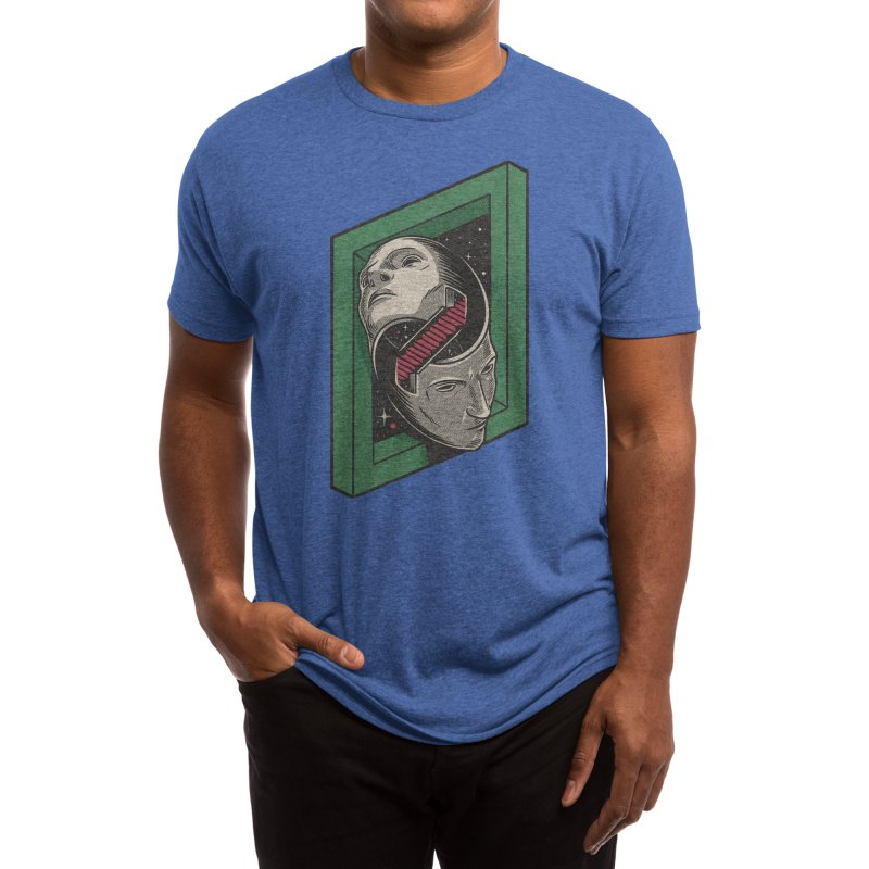 The Solipsist Men's T-Shirt by Threadless Artist Shop