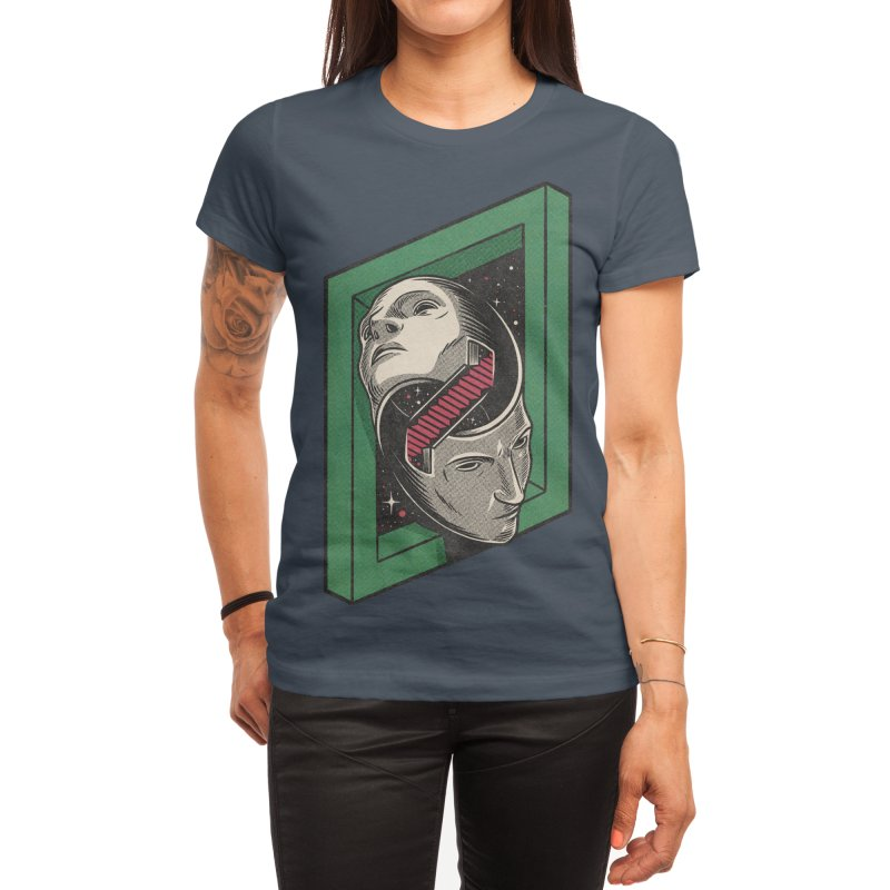 The Solipsist Women's T-Shirt by Threadless Artist Shop