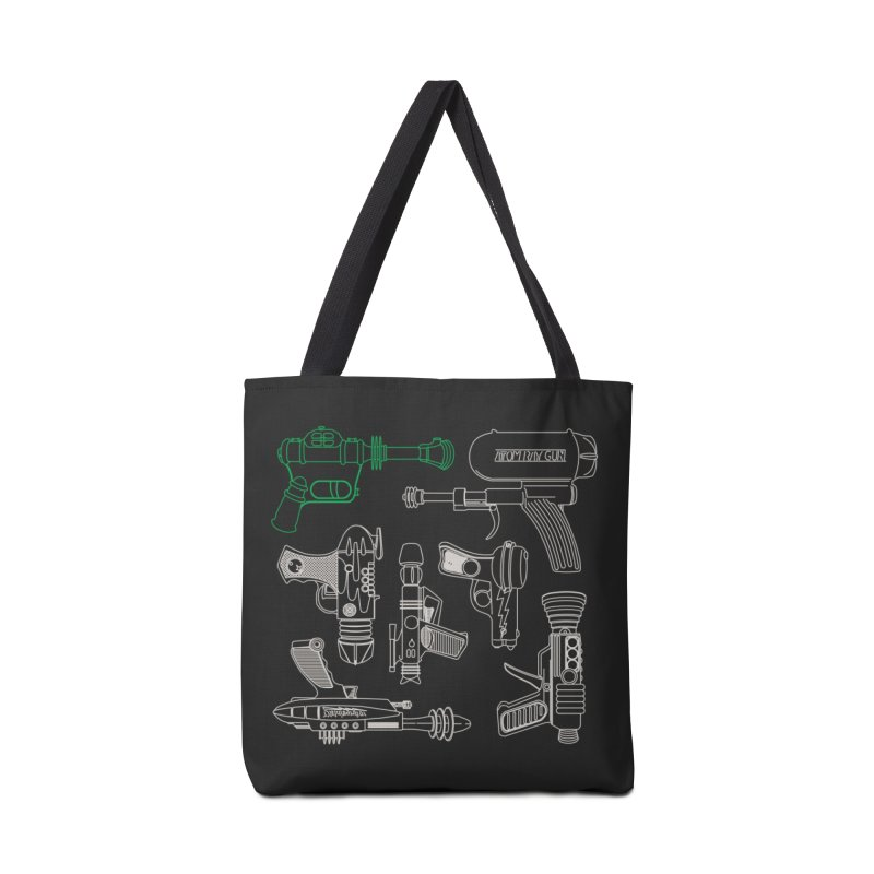 Rayguns Accessories Bag by Threadless Artist Shop
