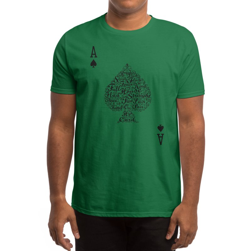 Poker Hand Values Men's T-Shirt by Threadless Artist Shop