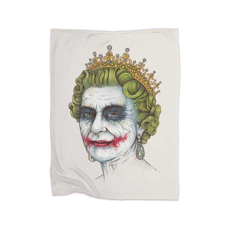 God Save the Villain! Home Blanket by Threadless Artist Shop