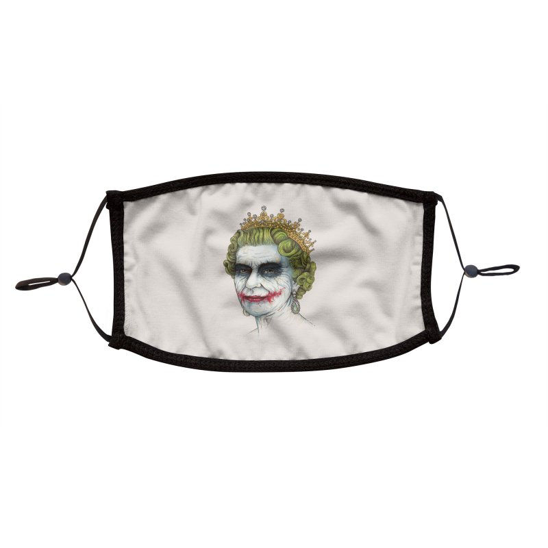 God Save the Villain! Accessories Face Mask by Threadless Artist Shop