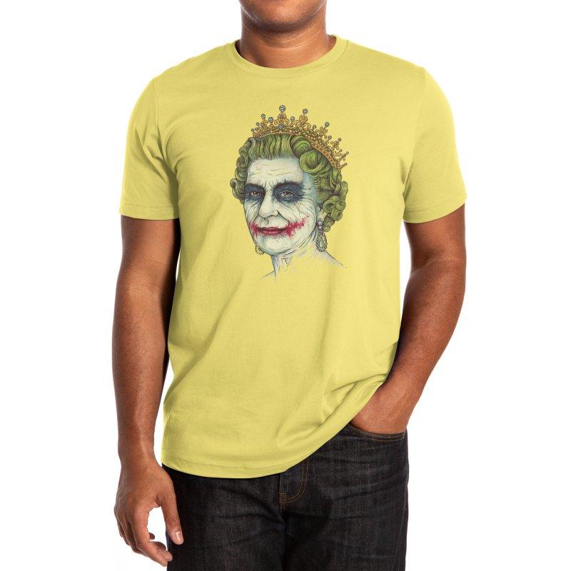 God Save the Villain! Men's T-Shirt by Threadless Artist Shop