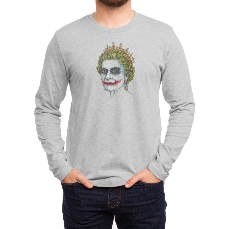 God Save the Villain! Men's Longsleeve T-Shirt by Threadless Artist Shop