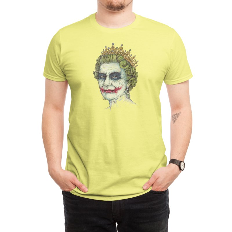 God Save the Villain! Men's T-Shirt by Threadless Artist Shop