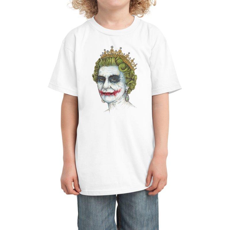 God Save the Villain! Kids T-Shirt by Threadless Artist Shop