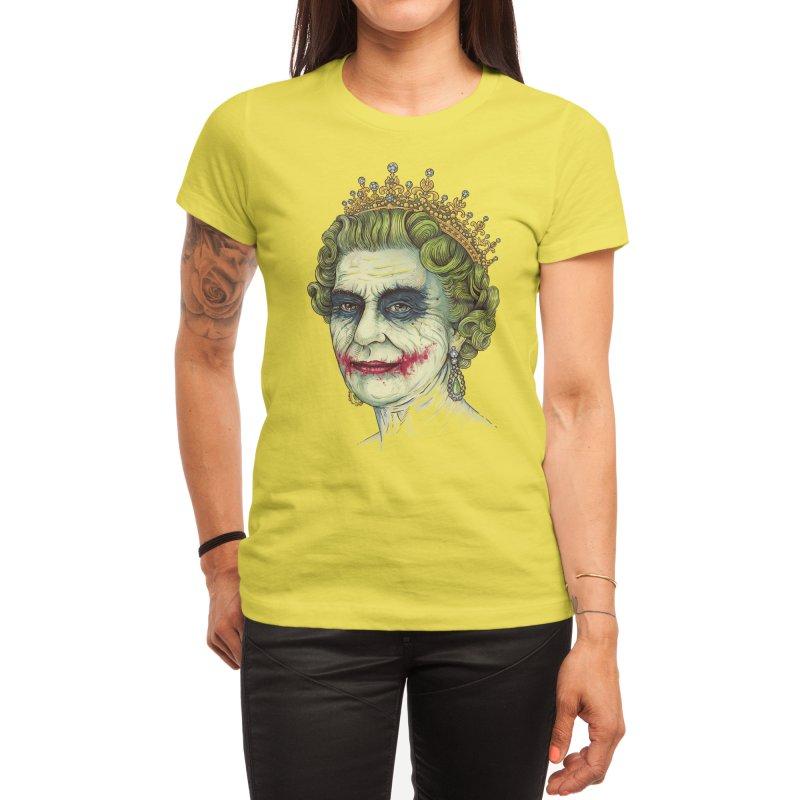 God Save the Villain! Women's T-Shirt by Threadless Artist Shop