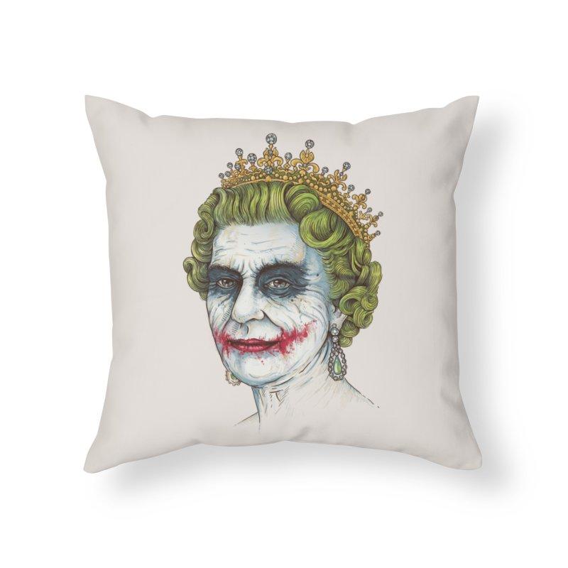 God Save the Villain! Home Throw Pillow by Threadless Artist Shop