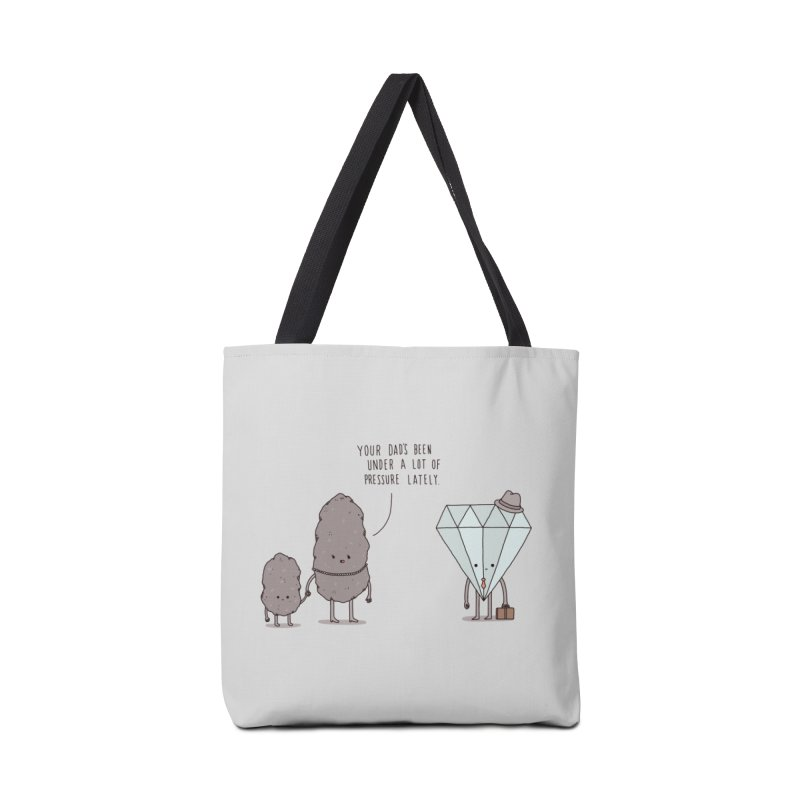 The Daily Grind Accessories Bag by Threadless Artist Shop