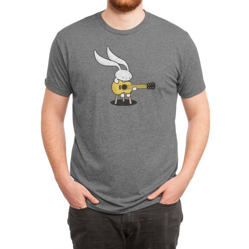 Bunny's Acoustic Set Men's T-Shirt by Threadless Artist Shop