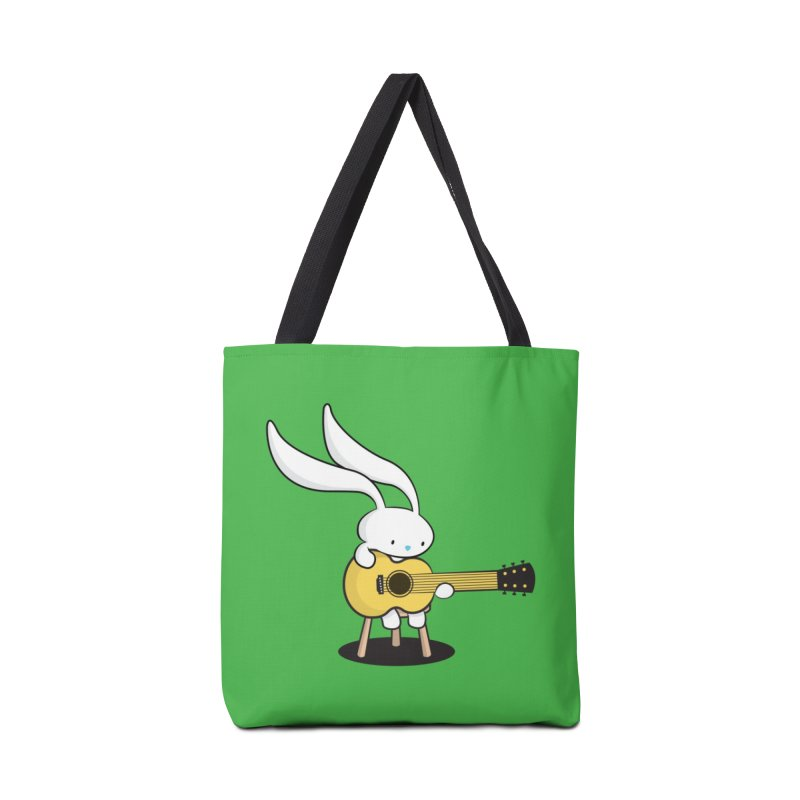 Bunny's Acoustic Set Accessories Bag by Threadless Artist Shop