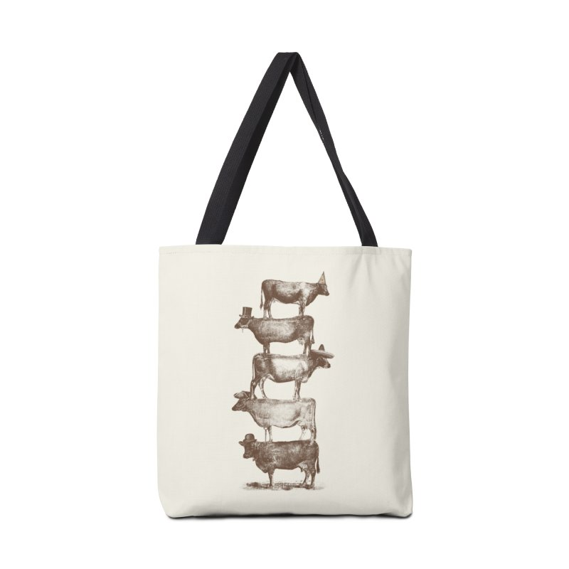 Cow Cow Nuts Accessories Bag by Threadless Artist Shop