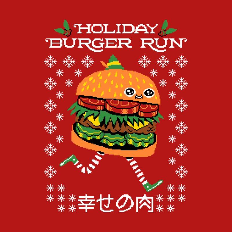 Holiday Burger Run Men's T-Shirt by Threadless Artist Shop