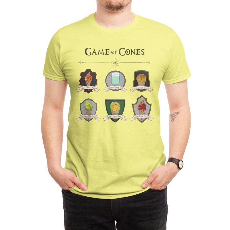 SUMMER IS COMING Men's T-Shirt by Threadless Artist Shop