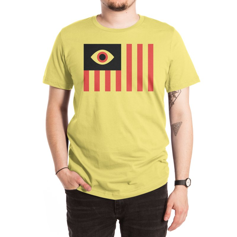 Stares and Stripes Men's T-Shirt by Threadless Artist Shop