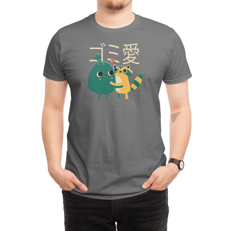 Trash Love Men's T-Shirt by Threadless Artist Shop