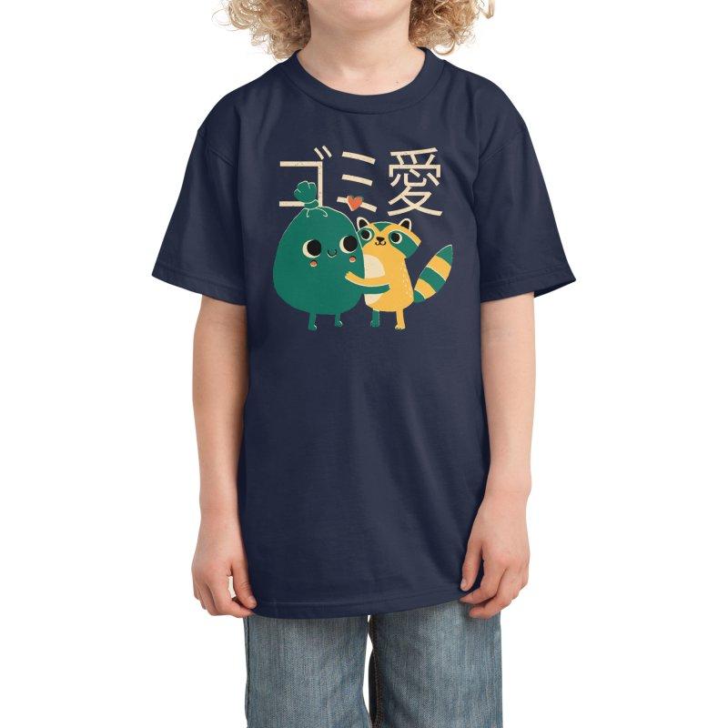 Trash Love Kids T-Shirt by Threadless Artist Shop