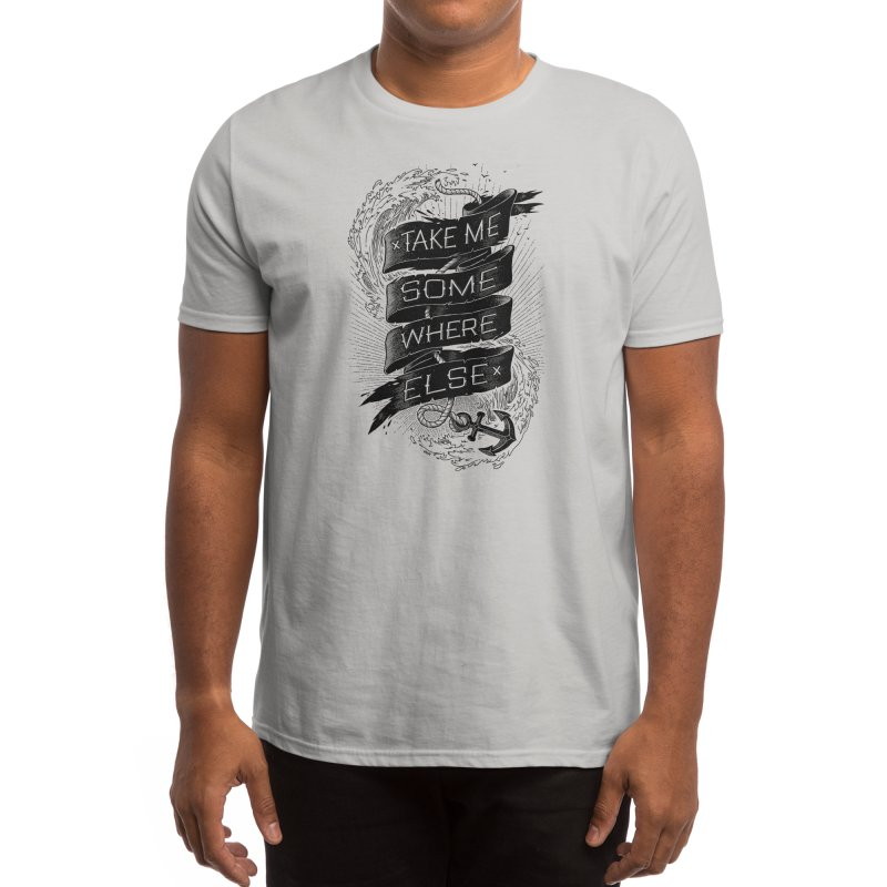 Take Me Somewhere Else Men's T-Shirt by Threadless Artist Shop