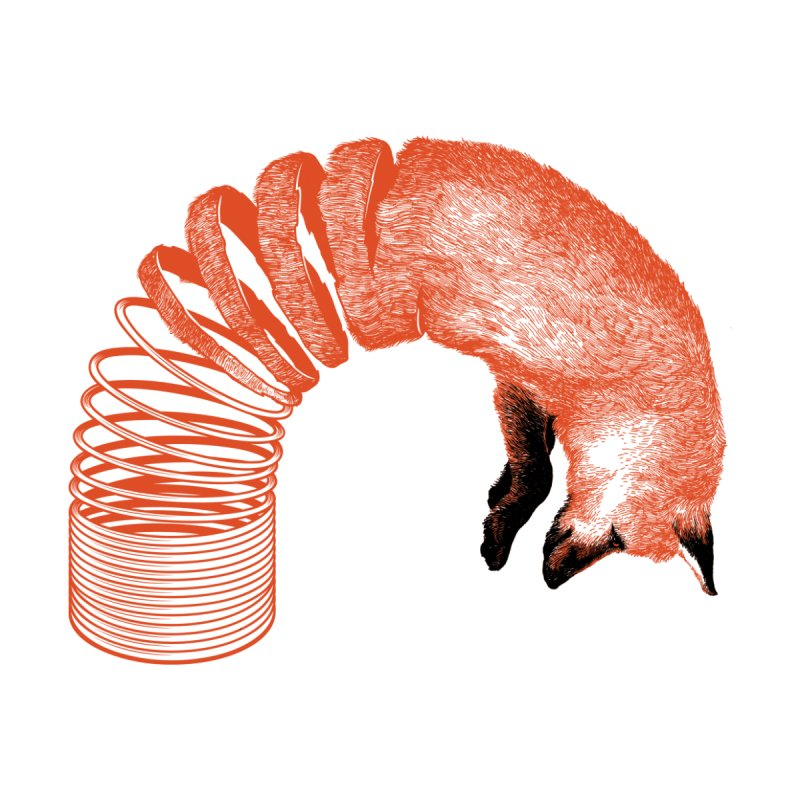 Spring Fox Men's T-Shirt by Threadless Artist Shop