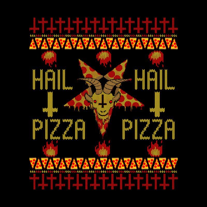 HAIL PIZZA: Holiday Edition Men's T-Shirt by Threadless Artist Shop