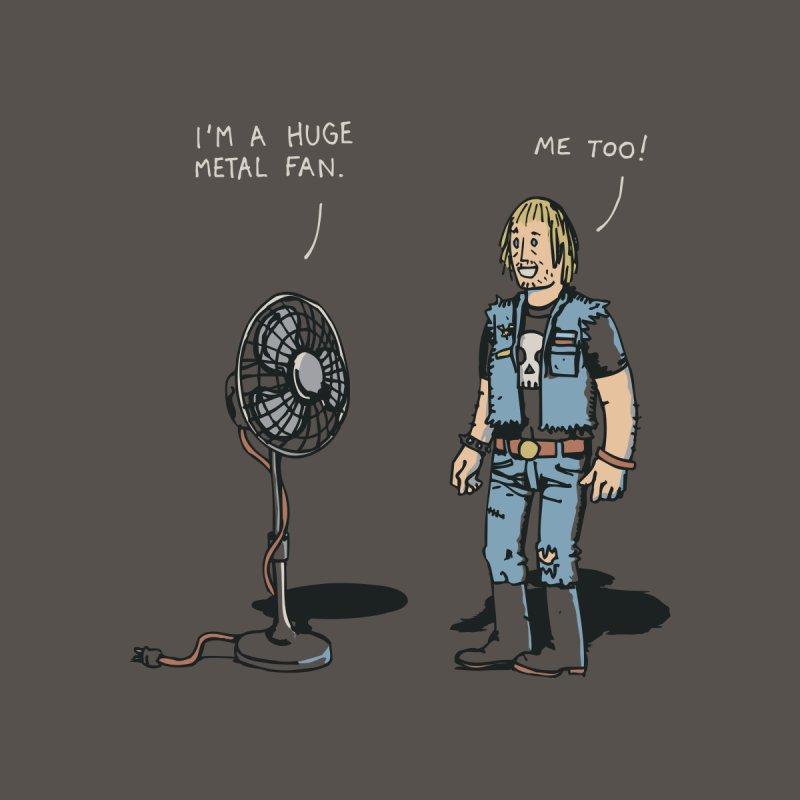 Metal Fan Men's T-Shirt by Threadless Artist Shop