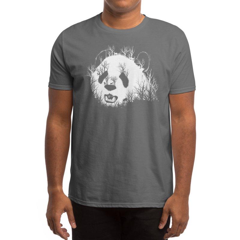 Hidden Panda Hill Men's T-Shirt by Threadless Artist Shop