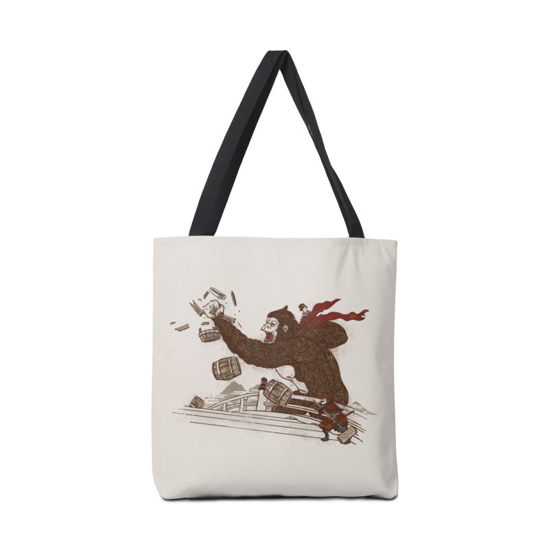 Big Trouble in Little Japan Accessories Bag by Threadless Artist Shop