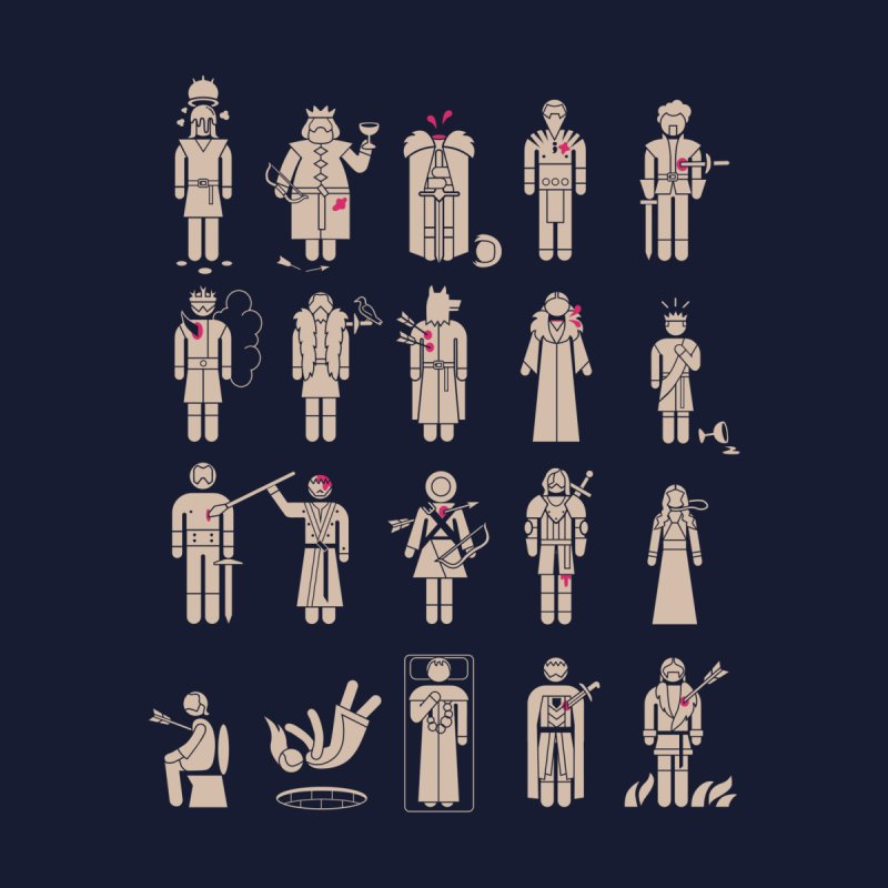In Memoriam Men's T-Shirt by Threadless Artist Shop