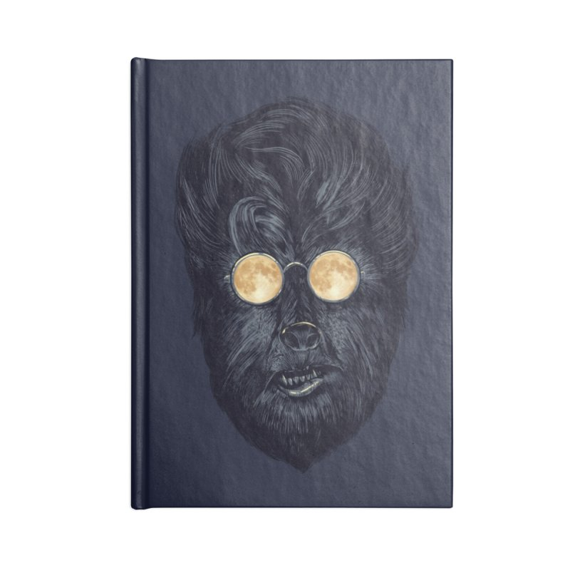 Moon Glasses Accessories Notebook by Threadless Artist Shop