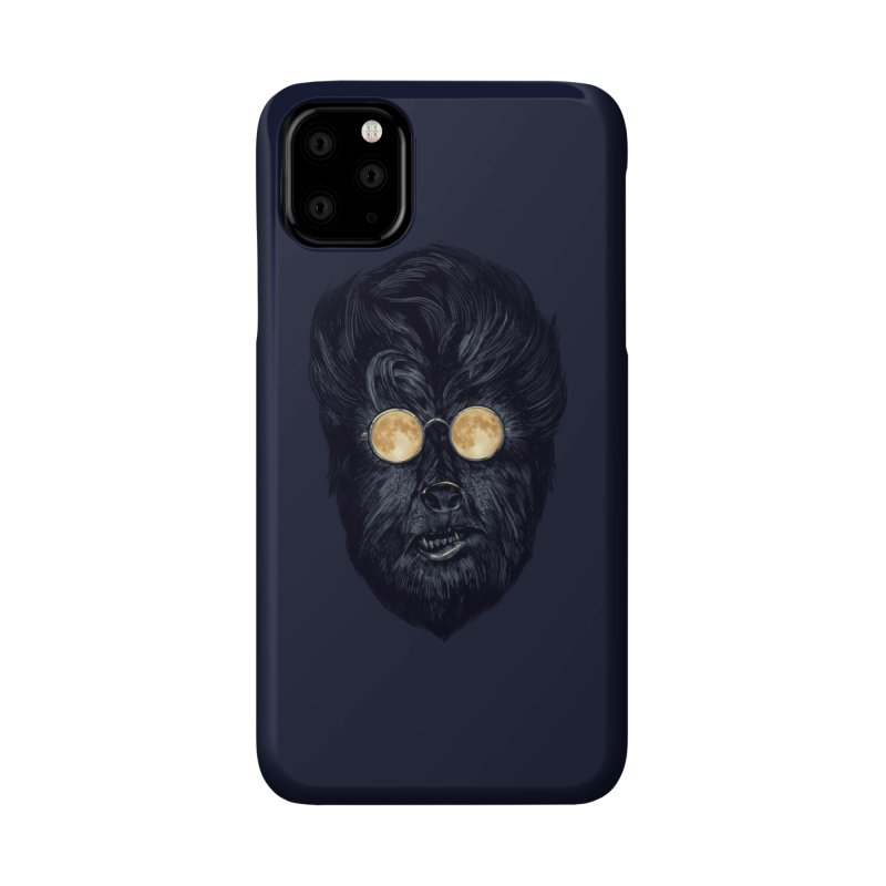 Moon Glasses Accessories Phone Case by Threadless Artist Shop