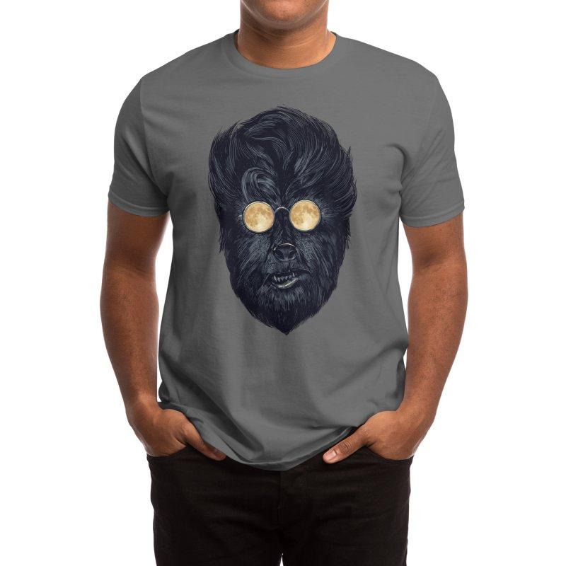 Moon Glasses Men's T-Shirt by Threadless Artist Shop