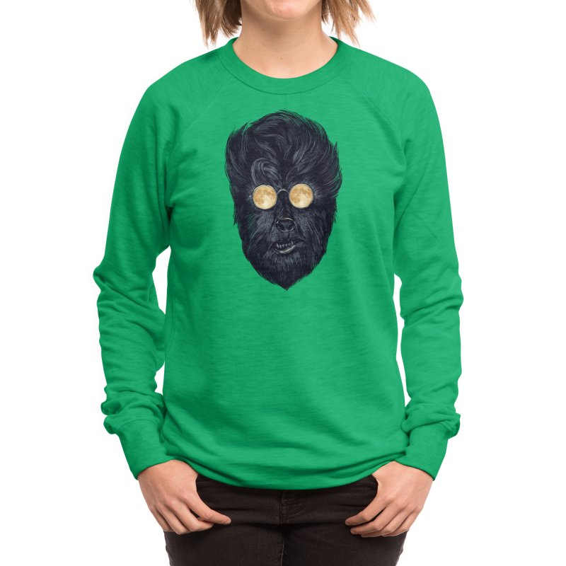 Moon Glasses Women's Sweatshirt by Threadless Artist Shop